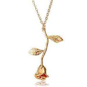 Jewelry - Gold Rose Necklace